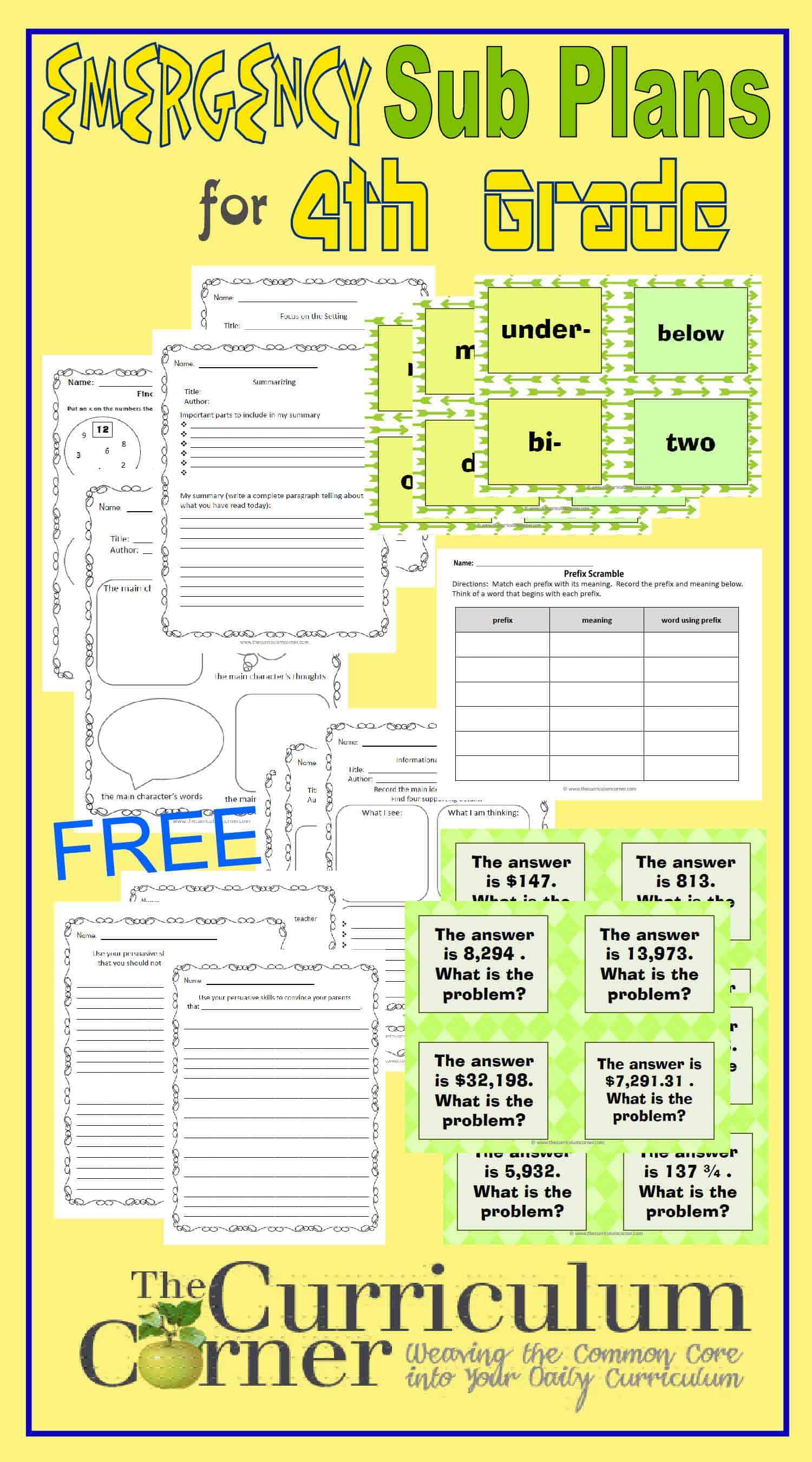 Line Plot Lesson Plans 4th Grade