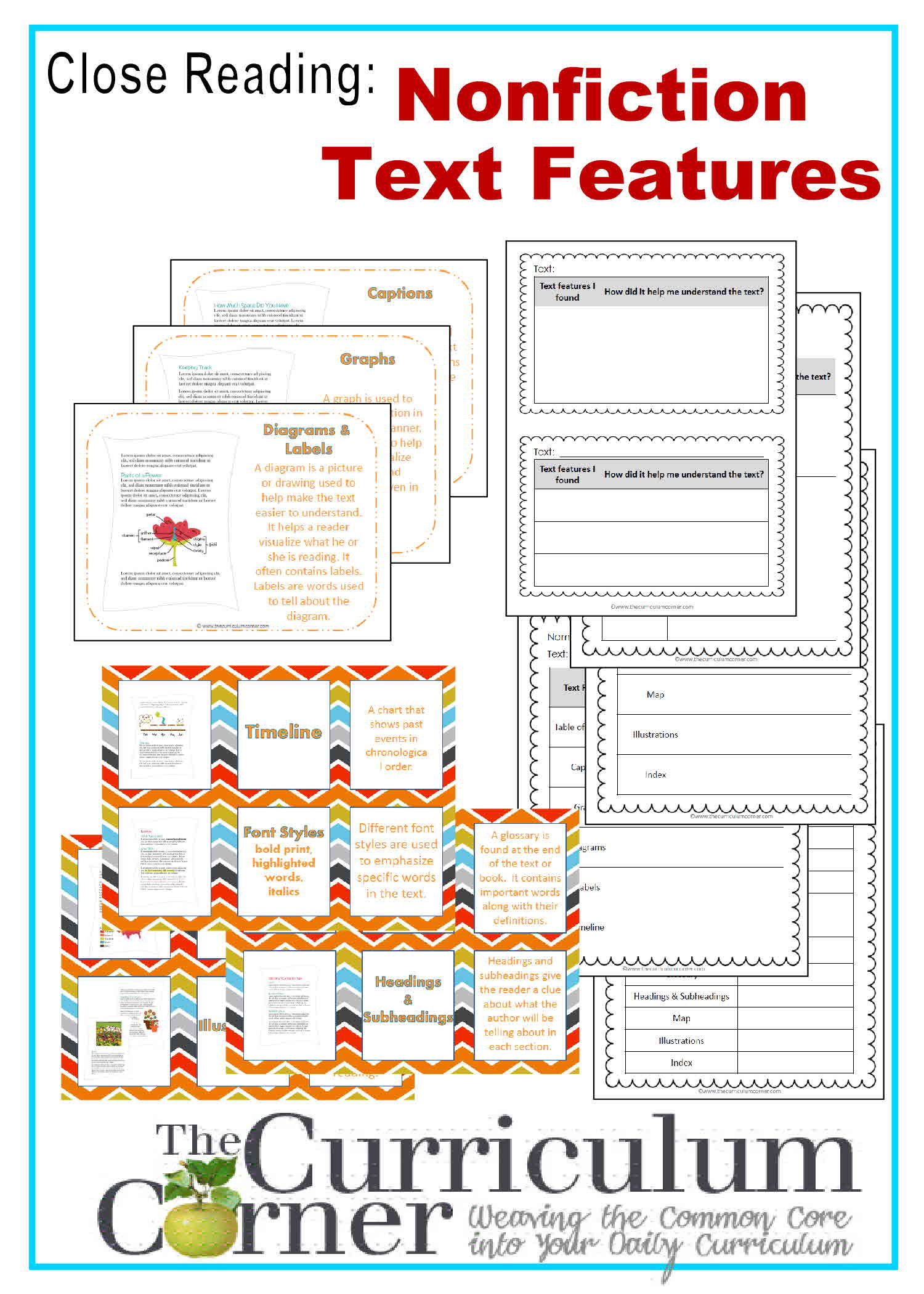 Close Reading Using Text Features