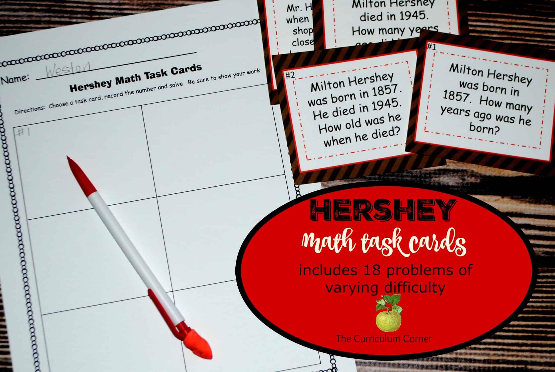 Hershey Bar Fraction Worksheet Third Grade Hershey Best Free Printable Worksheets