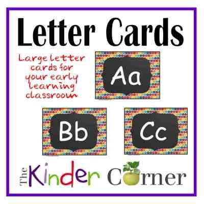 Large Letter Cards