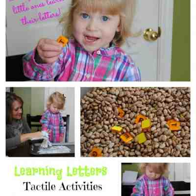Learning Letters Tactile Activities