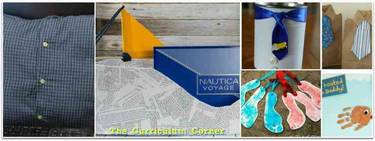 20 Father's Day Craft Ideas from The Curriculum Corner