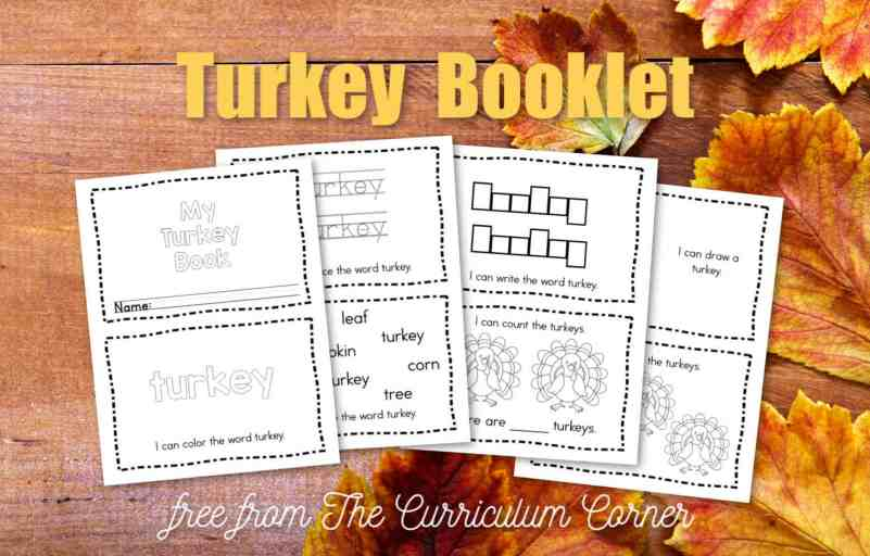 turkey emergent reader