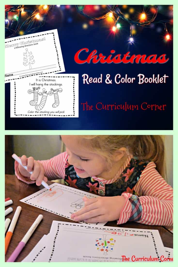 This simple Christmas booklet is perfect for your kinders! It is a great free addition to your December plans.