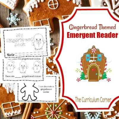 Simple Gingerbread Booklet