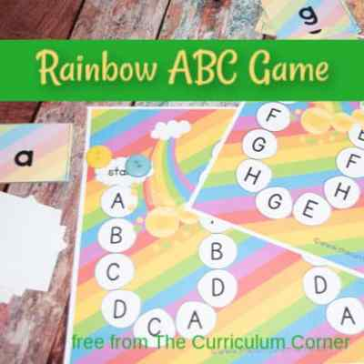 Rainbow Alphabet Game