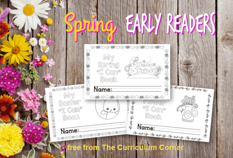 Spring Early Reader Booklets