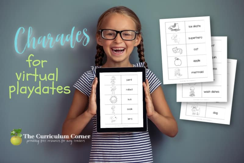 Charades for Virtual Playdates