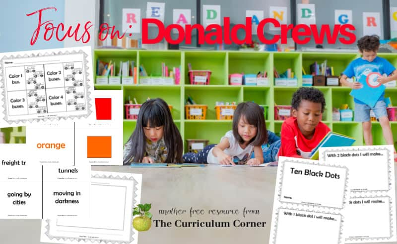 Add these resources to your Donald Crews author study during writing workshop.