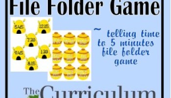 Greater Than & Less Than File Folder Game - The Curriculum