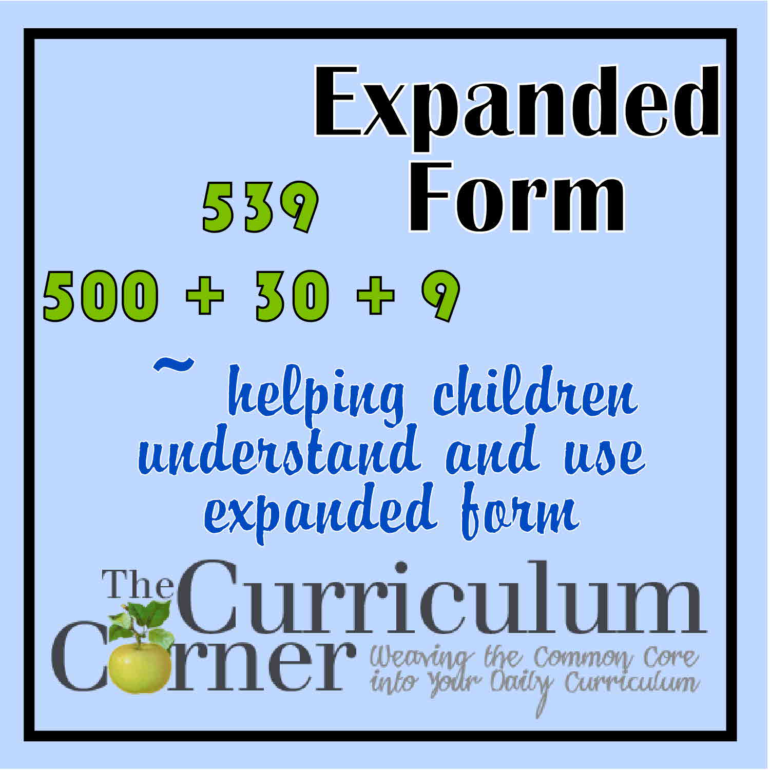 Worksheet Expanded Form Chart Worksheet Fun Worksheet