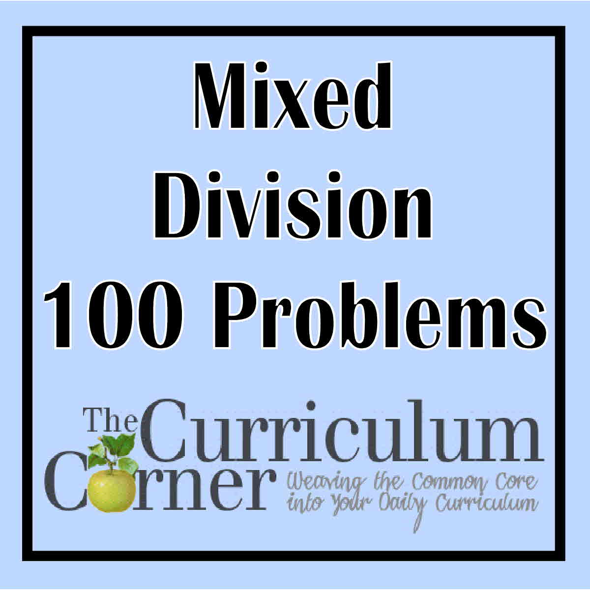Division Timed Tests Practice Pages The Curriculum Corner 123 – Division Timed Test Worksheet
