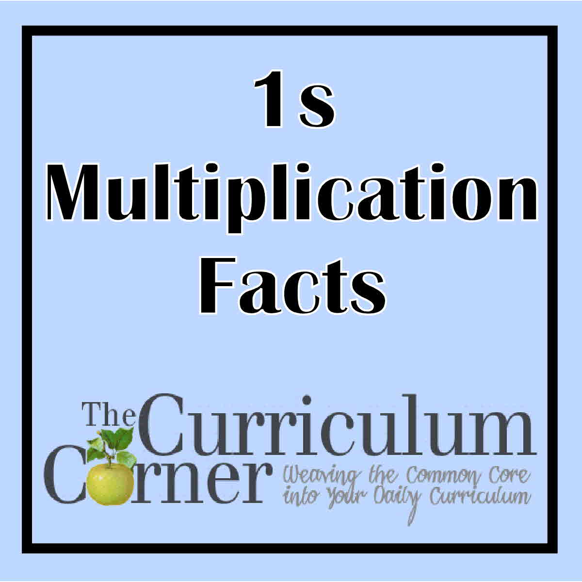 1s Multiplication Facts