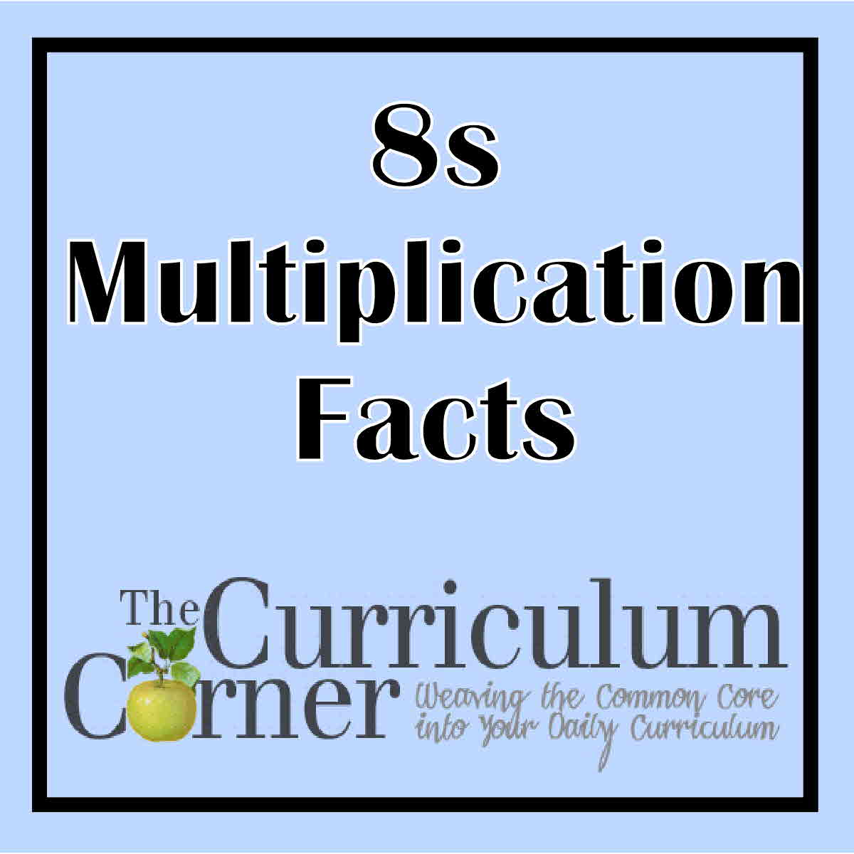 8s Multiplication Facts