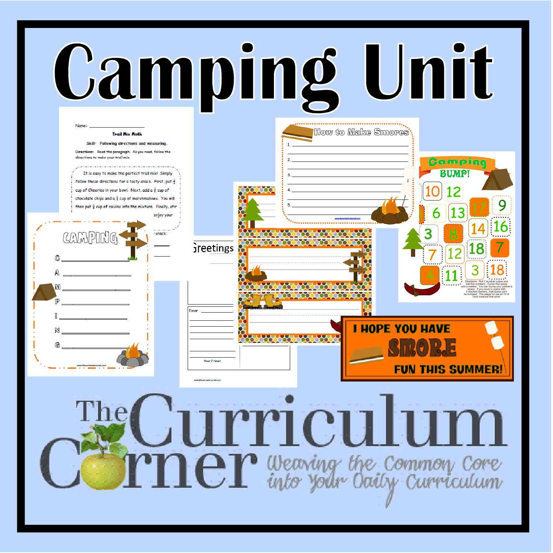 Classroom Camping Unit