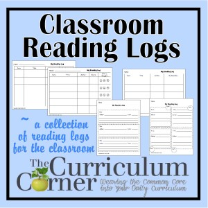 Class Reading Logs by The Curriculum Corner