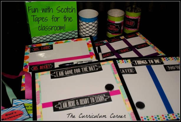 Fun with Scotch Tapes by The Curriculum Corner