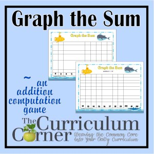 Graph the Sum Addition Facts Game