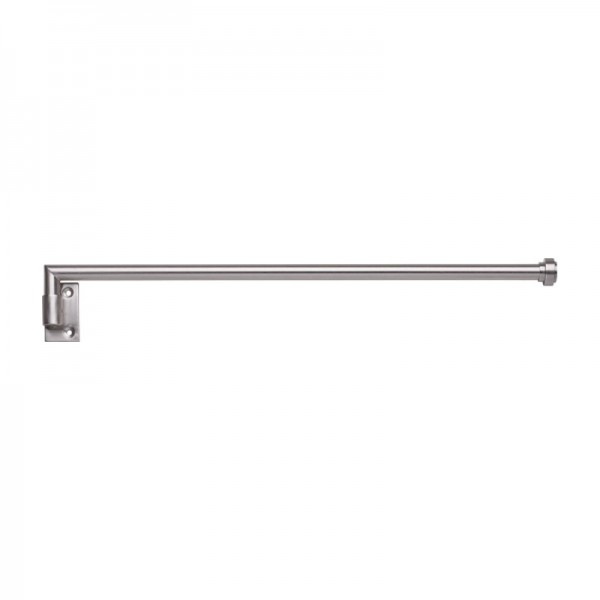30 swing arm drapery curtain rod 5 8 diameter