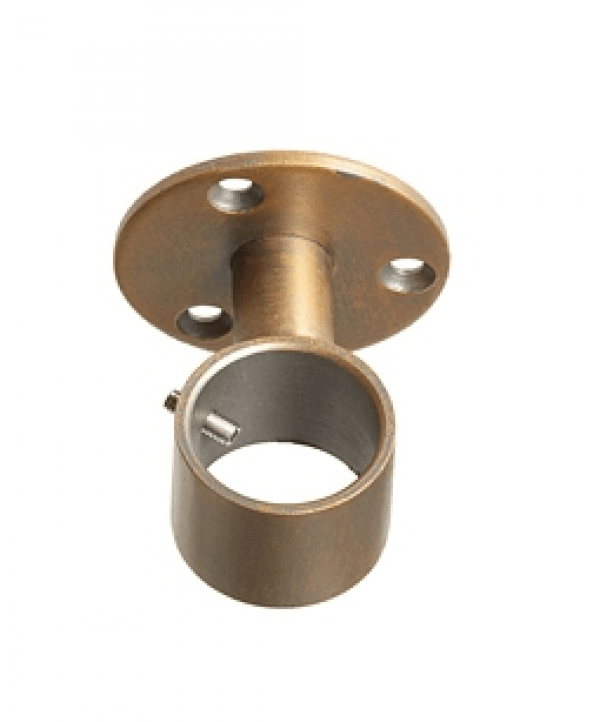 ceiling mount curtain rod bracket for 3 4 drapery rods each