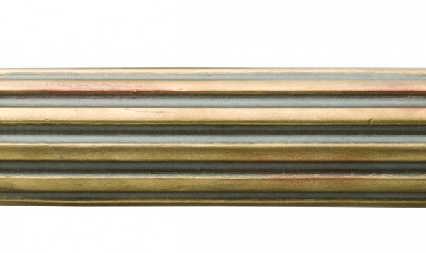 4 fluted wood curtain drapery rod 2 1 4 rod diameter