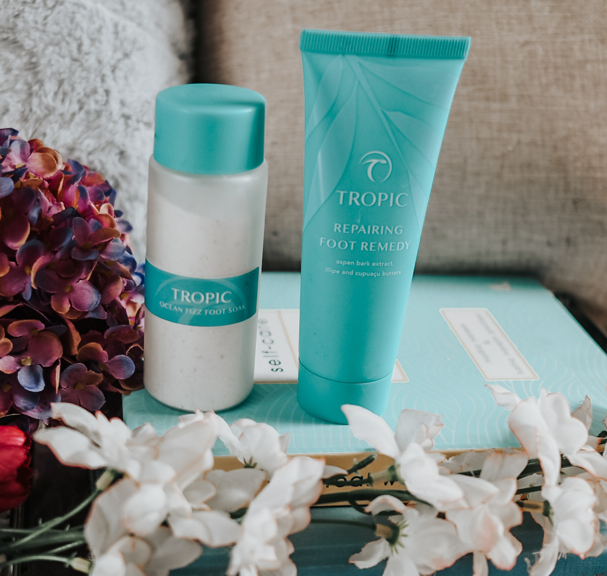 The Tropic Skincare Foot Care Collection Why You Need To Try It The Curvaceous Vegan