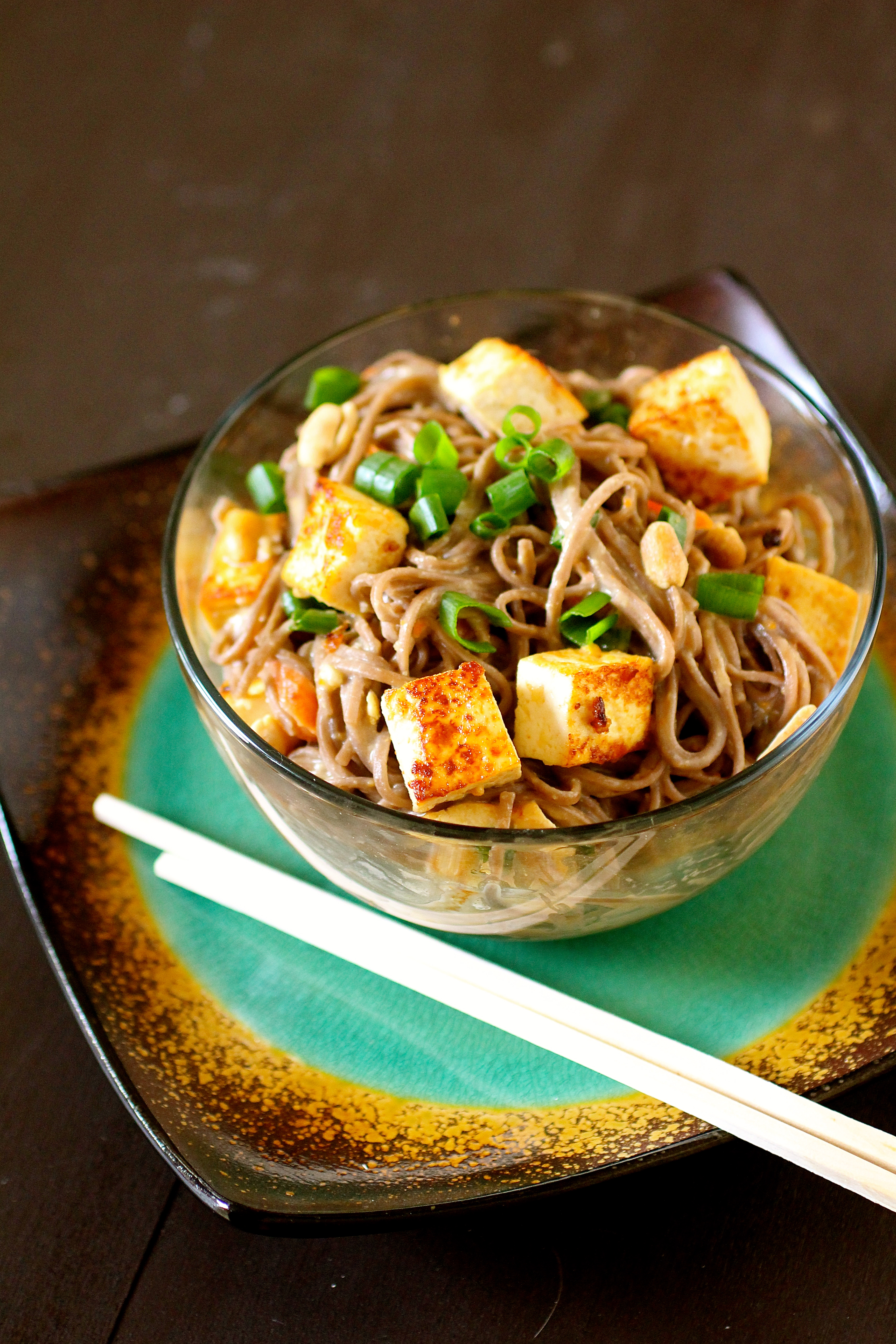 Spicy Soba Noodles With Peanut Sauce The Curvy Carrot