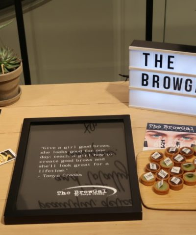 MEET THE BROWGAL 18