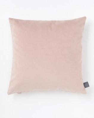 Blush Pink Faux Velvet