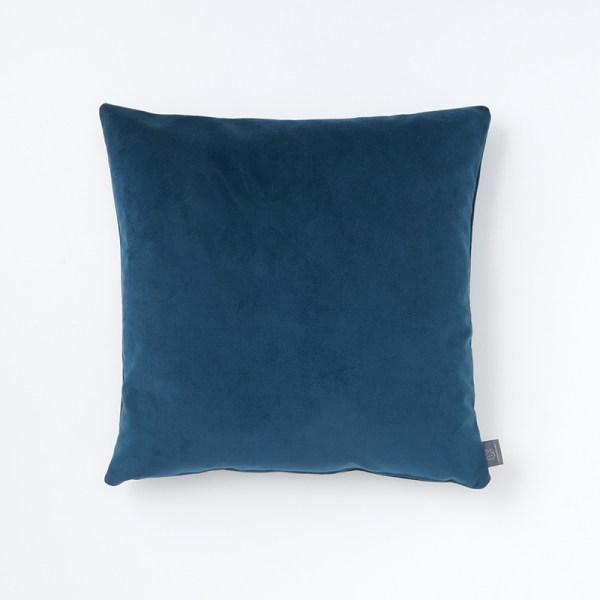 dark-teal-faux-velvet-cushion