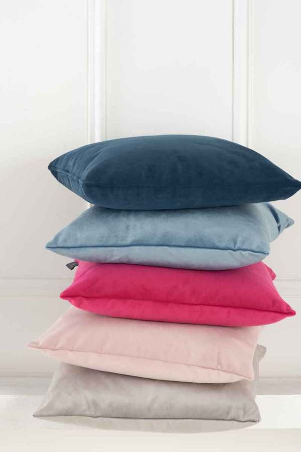 brightly-coloured-cushions-navy-blue-pink-fuchsia-beige-the-cushion-cafe-berkshire