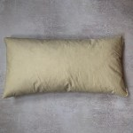 Feather cushion 24 inch by 12 inch lumbar rectangular