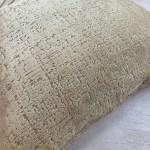 Ivory Cream Geo Side Panel Cushion