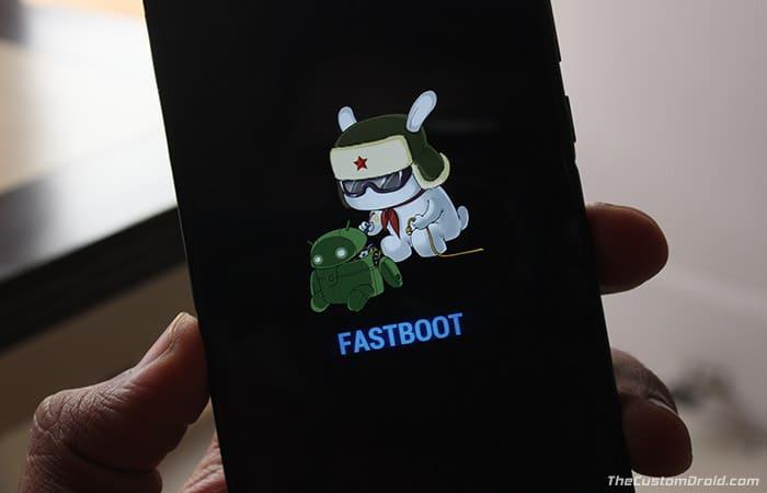 Установите TWRP Recovery на Xiaomi Mi A2 / A2 Lite - загрузитесь в режиме быстрой загрузки