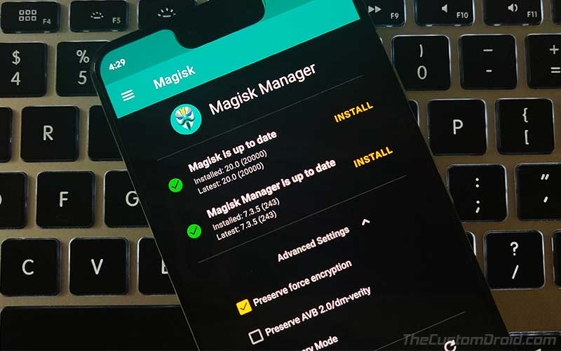 Скачать последнюю версию Magic 20.0 Stable и Magic Manager 7.3.5 APK