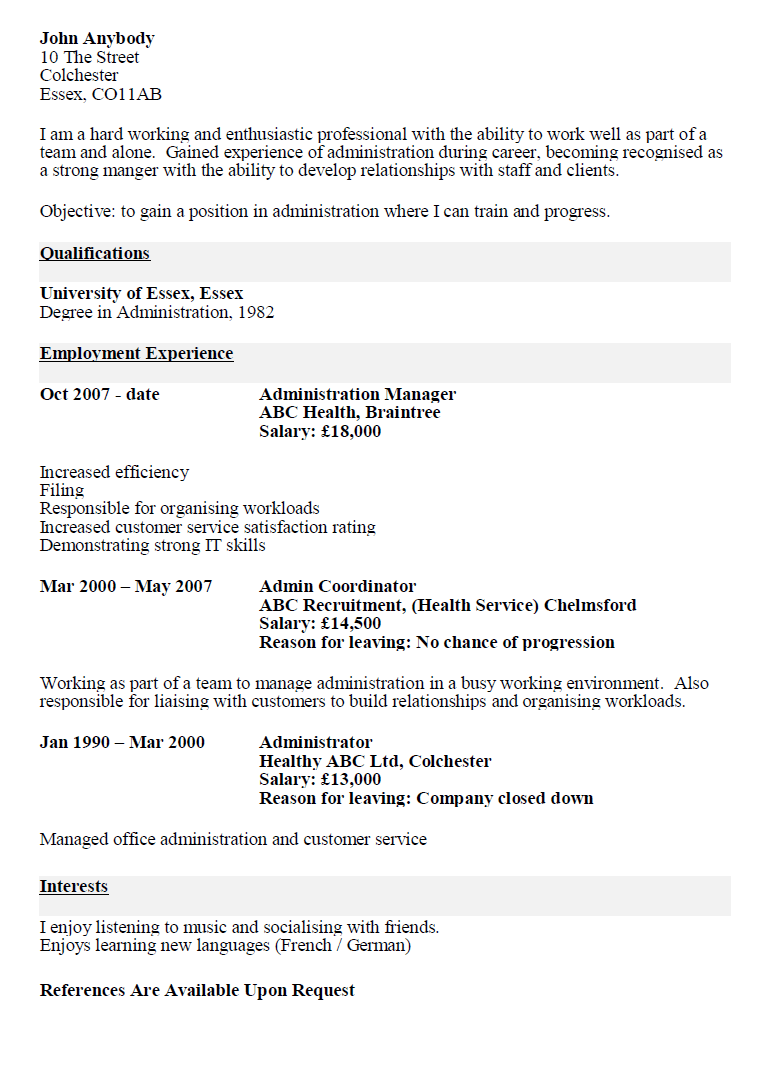 about target resume templates examples of targeted resume resume targeted resume examples
