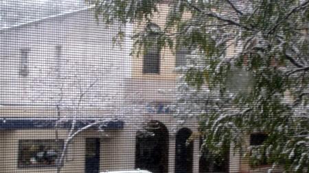 snow October 12