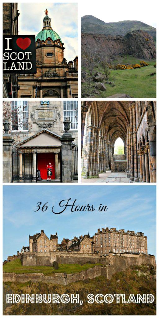 36 hours in Edinburgh, Scotland www.thedailyadventuresofme.com
