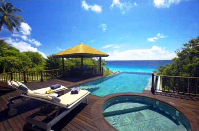 Fregate private Island in Seychelles