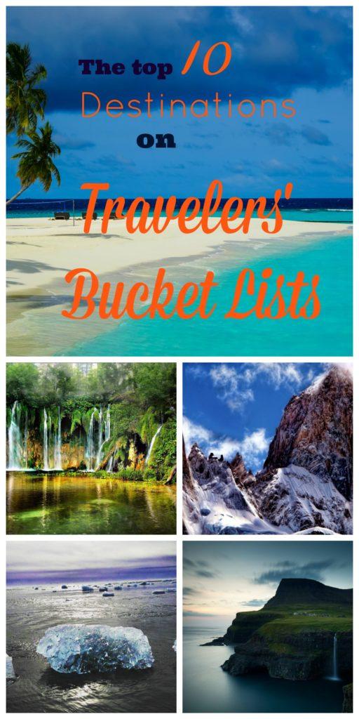 Traveler's Bucket List www.thedailyadventuresofme.com