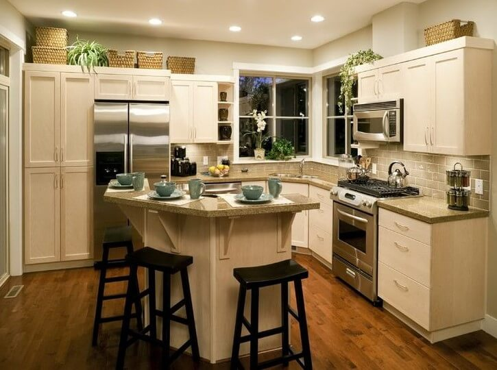 small kitchen island cutting board & 19 Unique Small Kitchen Island Ideas for Every Space and Budget ...