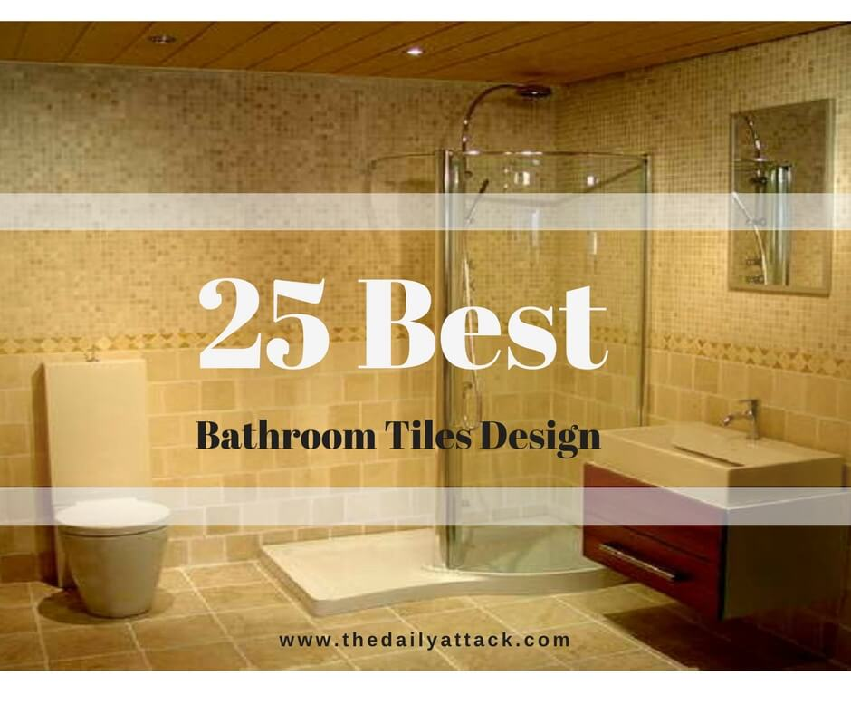 Amazing 25 Best Bathroom Tiles Design Ideas You Never Knew You Wanted