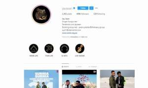 Jay Sean InstaGram Profile