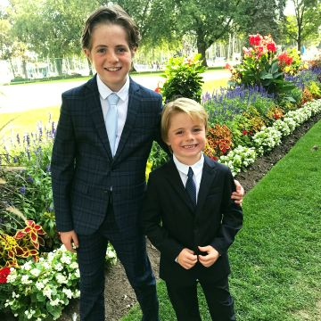 Will Brisbin & His Brother