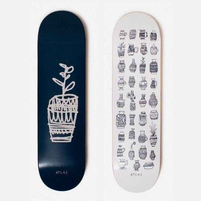 Atlas skate decks by Cody Hudson