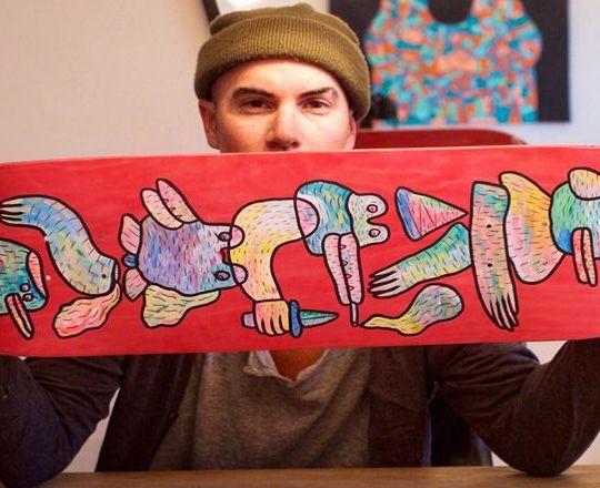 Lucas Beaufort skate deck