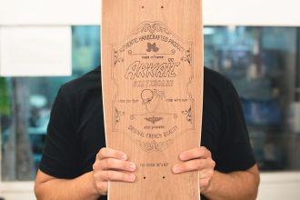 Brice de Arkaic Skateboards