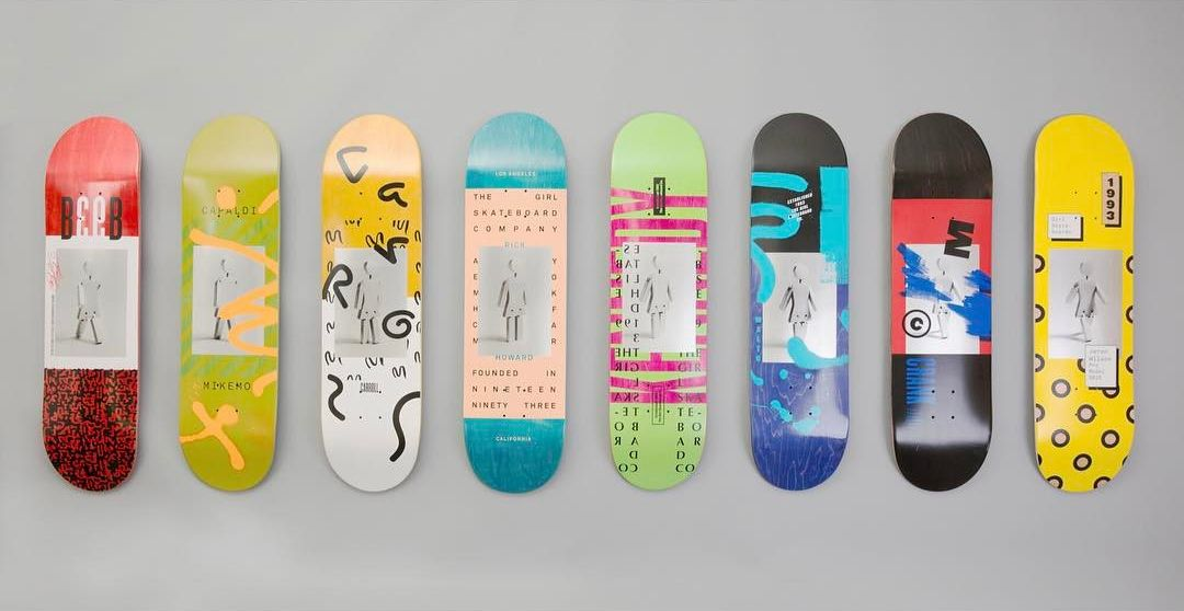 Contemporary OG series by Girl Skateboards
