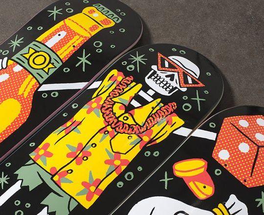 Vices par Darkstar Skateboards x Luke Pelletier