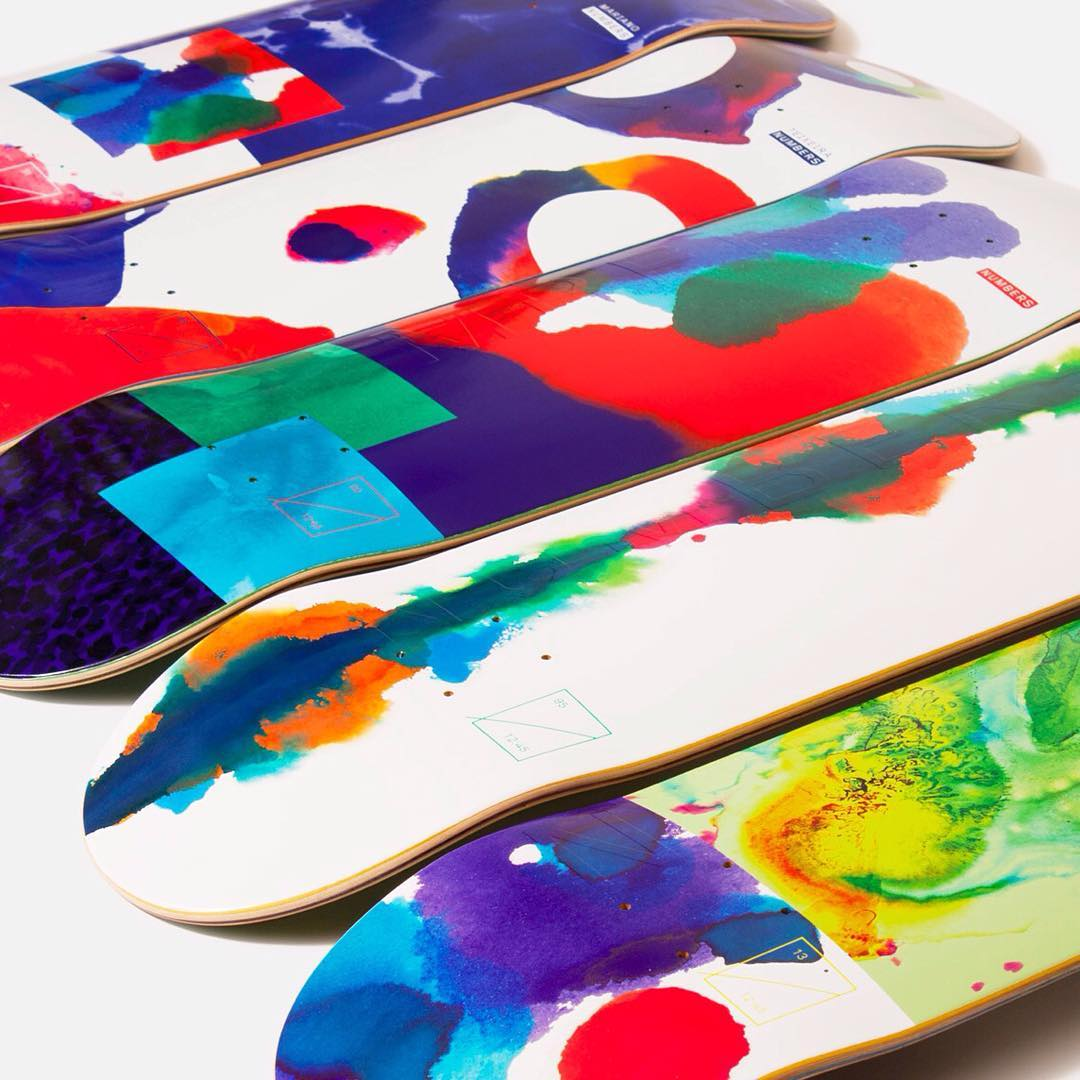 Edition 2 by Numbers skateboards